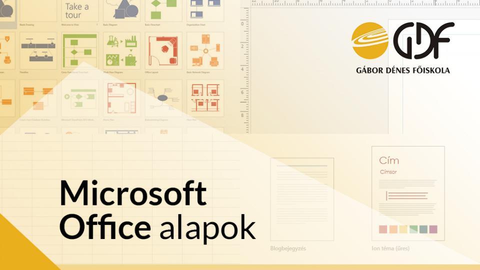 A Microsoft Office alapok