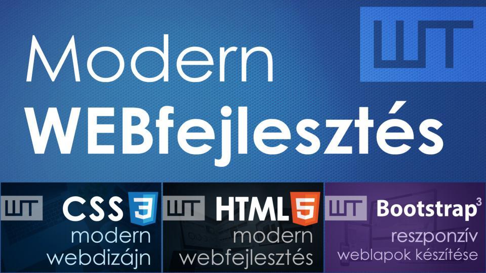 Modern webfejlesztés - AKCIÓS csomag
