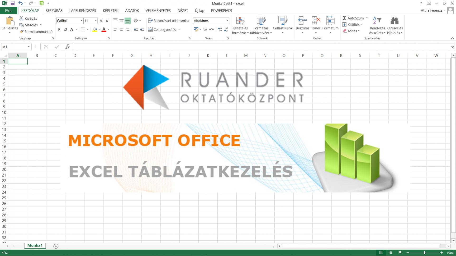 Excel 2016 alapok