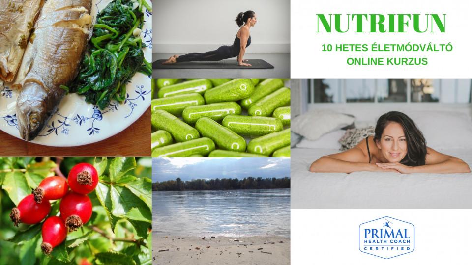 NUTRIFUN 101 Életmódváltó kurzus