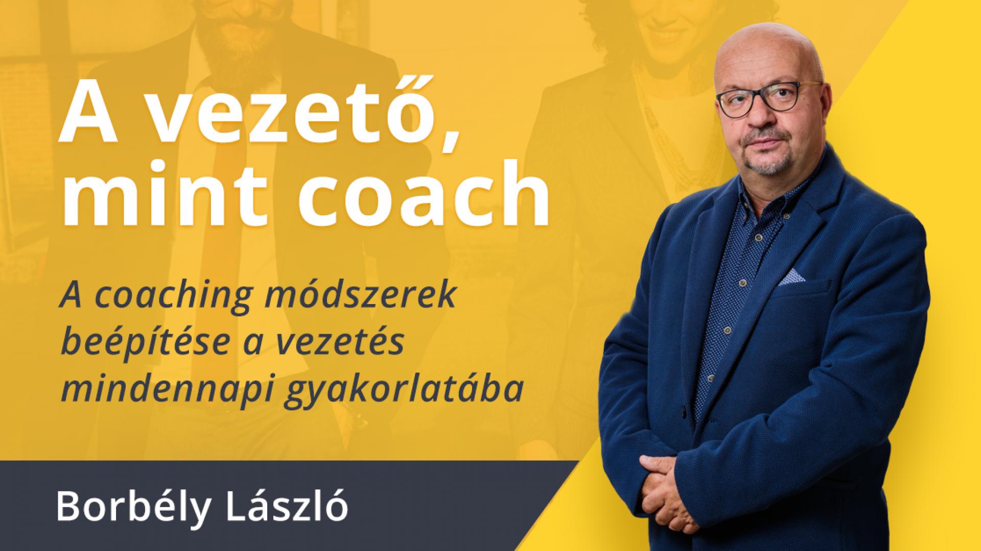 A vezető, mint coach