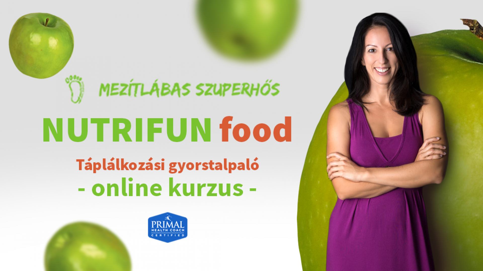 NUTRIFUN food - A funkcionális táplálkozás alapjai gyorstalpaló