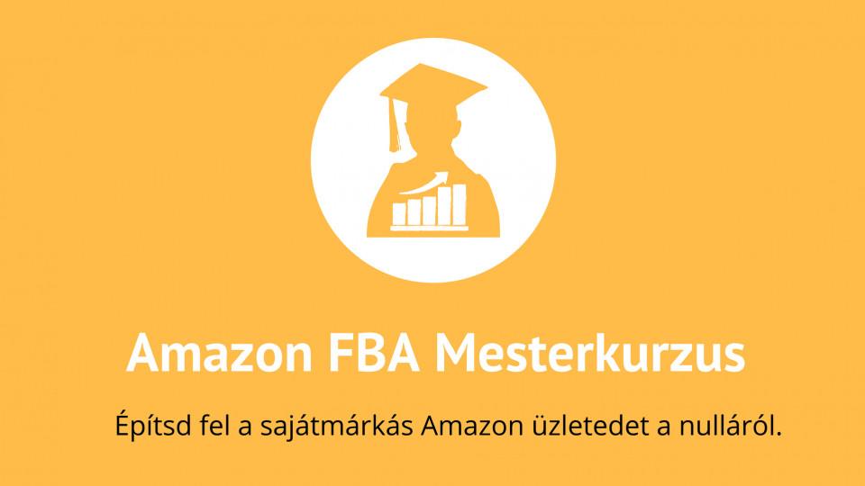 Amazon FBA Mesterkurzus