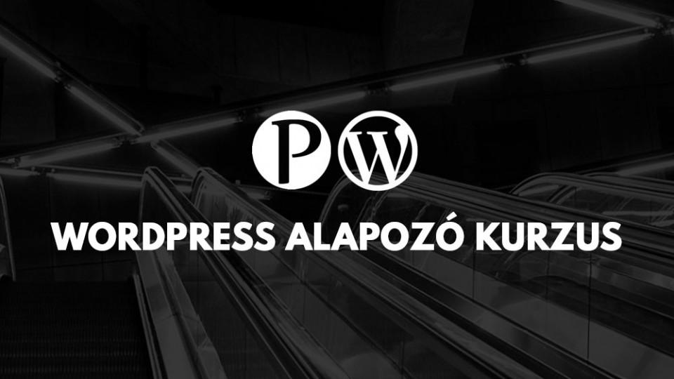 WordPress Alapozó Kurzus
