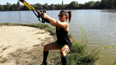 TRX Core training
