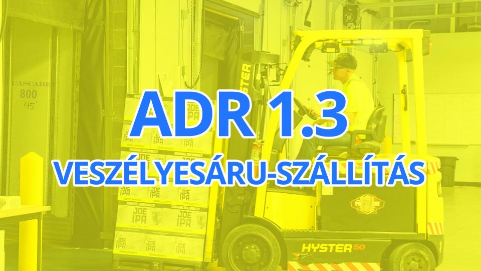 ADR 1.3