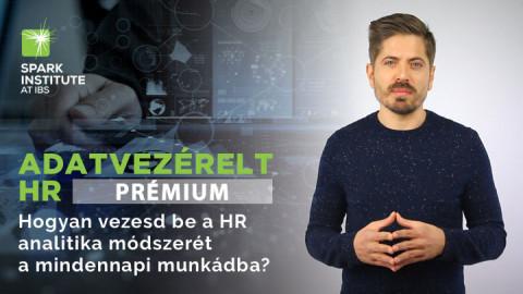 Adatvezérelt HR // PRÉMIUM KÉPZÉS