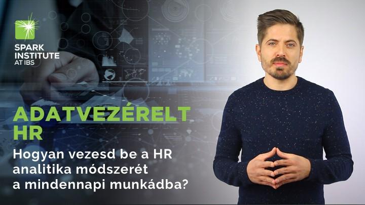 Adatvezérelt HR