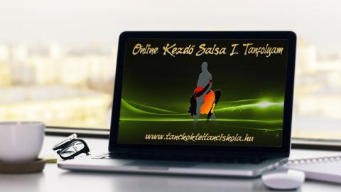 Online Vonalas Salsa Tánctanfolyam - Kezdő 1 (Nulla tudásszintről)