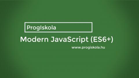 Modern JavaScript (ES6+)
