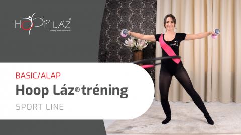 BASIC/ALAP Hoop láz® tréning klasszikus tréning súlyzóval vagy anélkül - SPORT line
