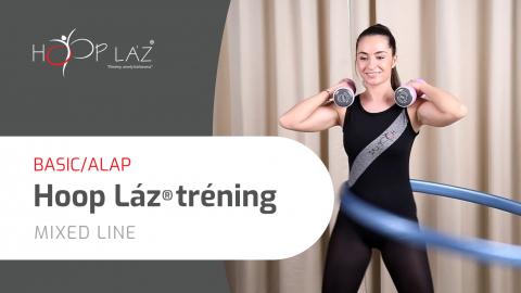 BASIC/ALAP Hoop láz® tréning MAXI tréningcsomag, extra mennyiségű videóval - MIXED line