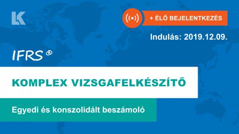 IFRS komplex vizsgafelkészítő [Indulás: 2019.12.09.]