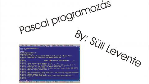 Pascal Programozás Alapok #1