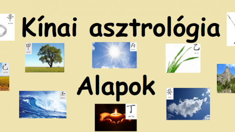 A kínai asztrológia alapjai