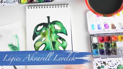Fess Légies Akvarell Leveleket!