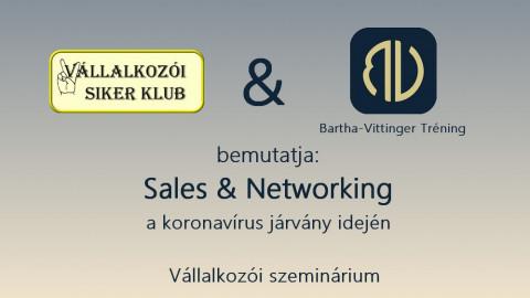 Sales és Networking