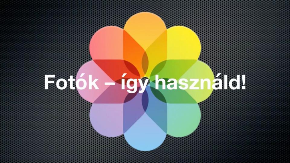 Mac Fotók alkalmazás