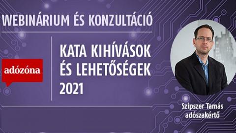 Kata kihívások és lehetőségek 2021